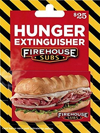 Firehouse Subs giftcard