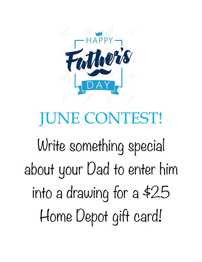 June Gift Card Contest