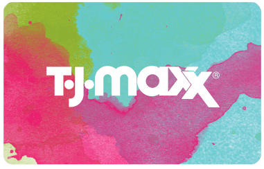 TJ Max giftcard